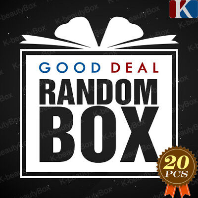Good Deal Random Box 20pcs Best Korean Cosmetics Samples Special Event! (Best Korean Skin Care Products For Acne)