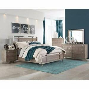 Five Piece Queen Bedroom Group by Donny Osmond Home (Available in King) - Bed, Chest, Dresser, NS & Mirror