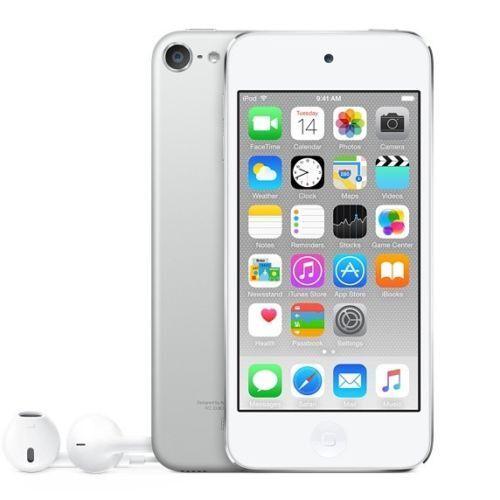 Apple iPod touch 128 GB MP3 Player (6th Generation Latest Model) Silver MKWR2LL/A