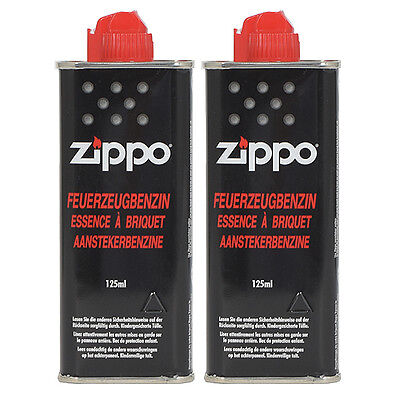 Feuerzeugbenzin ZIPPO 2 x Original Benzin je 125 ml Zippo Feuerzeuge
