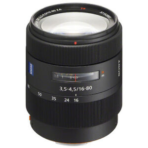 Sony Zeiss Vario-Sonnar DT16-80 A Mount crop lens