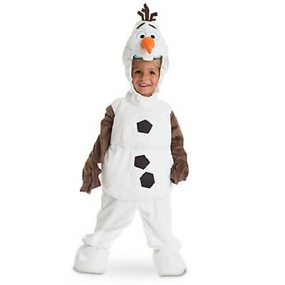Disney Store Olaf from Frozen Costume - Size 4 ~ NEW ~ AUTHENTIC](Olaf Costumes From Frozen)