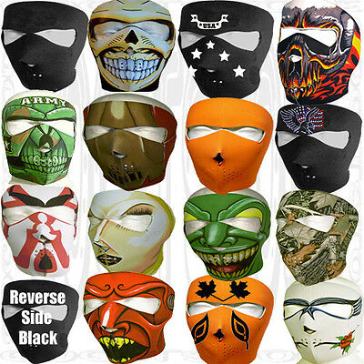 Winter Motorcycle Snowmobile Jeep Ski Best Paintball Costume Biker Face