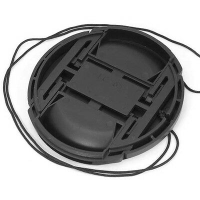 как выглядит 67mm Center Pinch Front Lens Cap Hood Cover for Lens / Filters w/ Leash фото