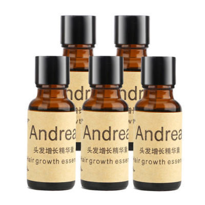 (5x20ml Andrea Hair Growth Regrowth Ginger Essence Natural Hair Loss Treatment)
