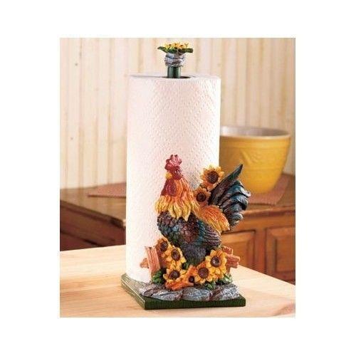 Sunflower Paper Towel Holder Ebay