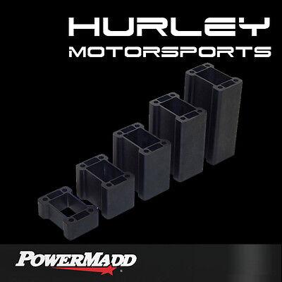 """POWERMADD Non-Pivot Flat Post Riser Bar Block - SkiDoo - 2"""" - 45504"""