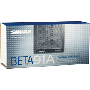 Shure Beta91A Boundary Condenser Microphone for Kick Drum