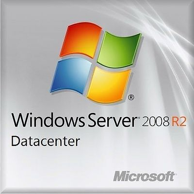 Msft Server Window 2008 R2 Datacenter Edition 64 Bit X64 And 25 Cal Users