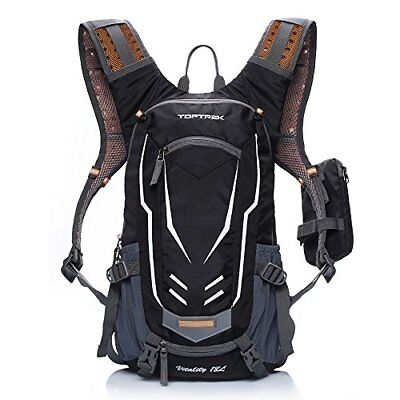 ❤ Cycling Toptrek Backpack Waterproof For Men & Women Mountain/Road/Street Bike, used for sale  Shipping to South Africa