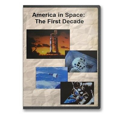 America in Space The First Decade NASA Exploration Documentary DVD C807