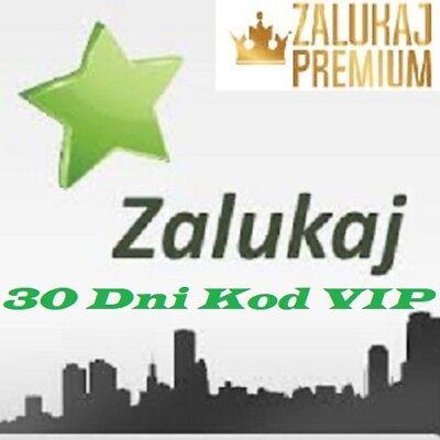 ZALUKAJ TV 30 Dni Kod Premium VIP Express Automat 24/7 PROMOCJA Zalukaj.com