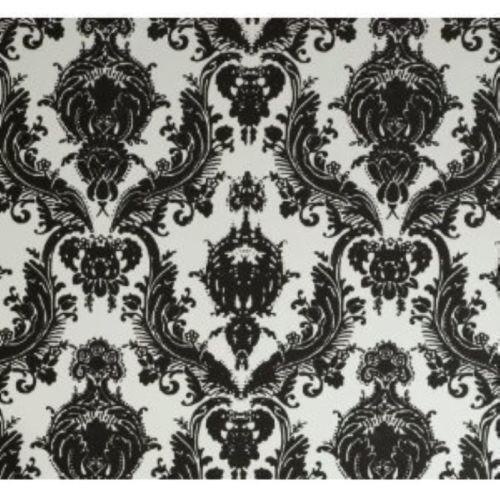 Damask Wallpaper Black Ebay