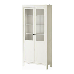 Ikea Hemnes Cabinet with panel/glass door WHITE
