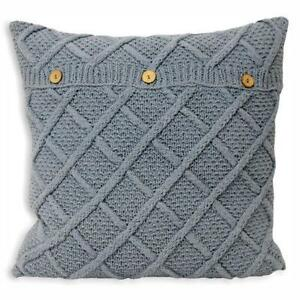 Cable knit pillow cover pattern, PDF KNITTING PATTERN, knitted cushion pattern Twists and Turns and cable knit by LadyshipDesigns. Find this Pin and more on Pillow Cover Knitting Patterns by LadyshipDesigns. Boil lightly to make soft.