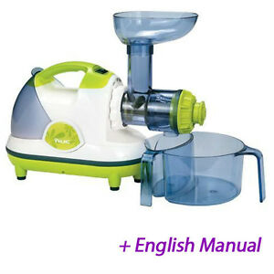 Slow Juicer Ie : NUC Kuvings NJE-3530 Masticating Slow Juicer Extractor Fruit vegetable __220v eBay