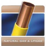 "1/2"" OD Gas-Pro Polyethylene Coated Copper Gas Tubing 100 FT 1/2 od poly coated"