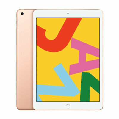 Apple iPad 10.2 Inch 7th Generation 2019 WiFi Only 128GB Gol