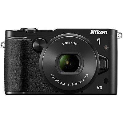Nikon 1 V3 Mirrorless Digital Camera with 10-30mm Lens