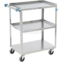 Lakeside 311 SD S/S Utility Cart - 300lb capacity