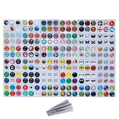 Wisdompro Home Button Sticker for Apple iPhone, iPod, iPad, Pattern 2 (216