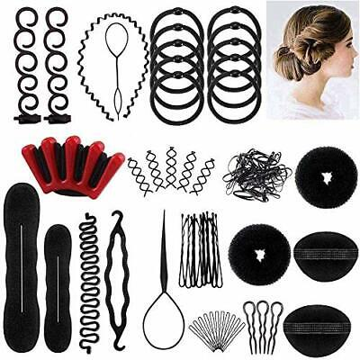 Hair Styling Set, Fashion Hair Design Styling Tools Accessories DIY