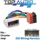 Car Audio & Video Wire Harnesses for 300 C