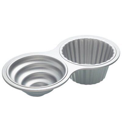KitchenCraft Sweetly Does It Non-Stick Jumbo Cupcake Baking Tin