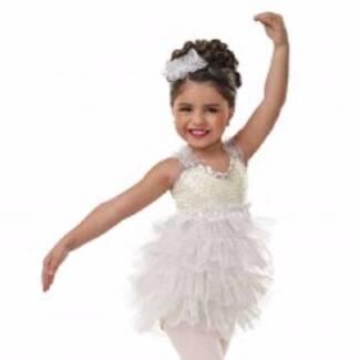 Dance teachers set of 15 light yellow costumes mixed child size