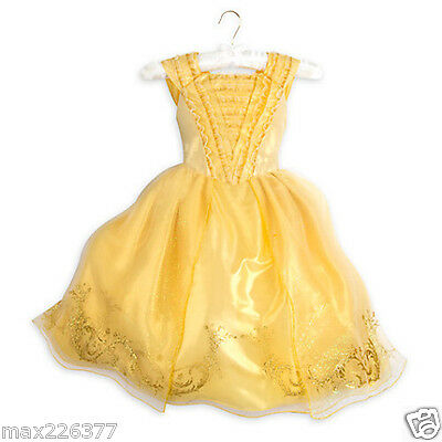 Belle Costume girl Beauty and the Beast Live Action Film 3 4 5/6 7/8 9/10 11 13