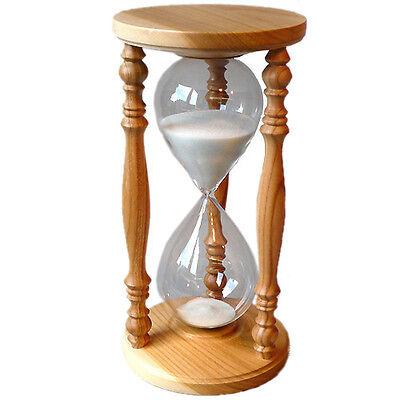 Sanduhr Eieruhr Stundenglas Kirsche Rustikal 60 Minuten 1 Stunde