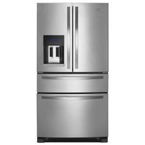 French door refrigerator ebay whirlpool french door refrigerators publicscrutiny Images