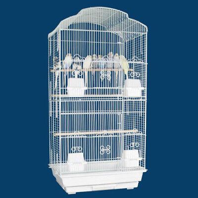 "34"" Large Canary Parakeet Cockatiel Budgies Aviary LoveBird Finch Bird Cage 468"