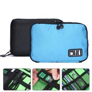 USB Flash Drives Case Organizer Bag Digital Storage Pouch Data