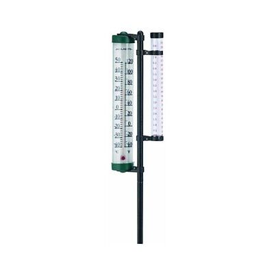 Rain Gauge and Thermometer Multi-Colored