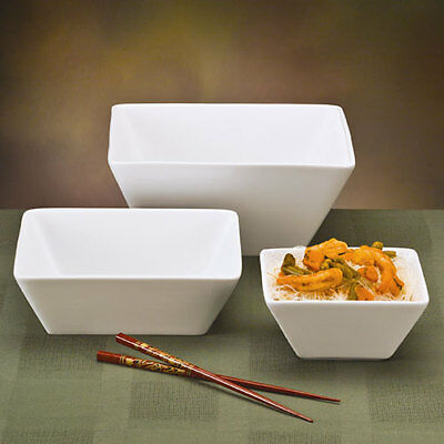 World Tableware Sl-19 Slate Dinnerware - 20 Oz. Square Bowl 5-12 I 2 Dozen