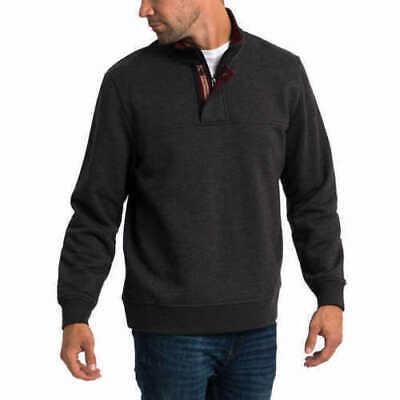 Orvis Men's Fleece 1/4 Zip Mock Neck Classic Fit Pullover 1/4 Zip Mock Neck Pullover