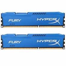 Kingston HyperX FURY 16GB Kit (2x8GB) 1866MHz DDR3 CL10 DIMM RAM Malvern East Stonnington Area Preview