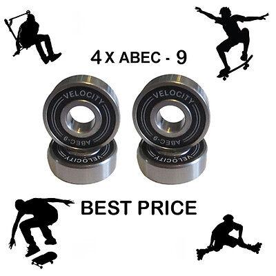 4 Abec 9 608 2S wheel bearings stunt scooter Skateboard Quad inline skate 7 11