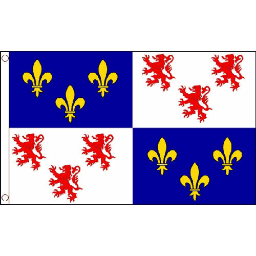 Picardy Flag 5Ft X 3Ft France French Region Banner With 2 Eyelets New