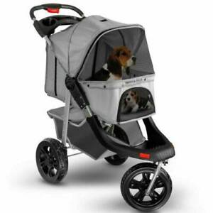 Pet Stroller Cat Dog 3-Wheel