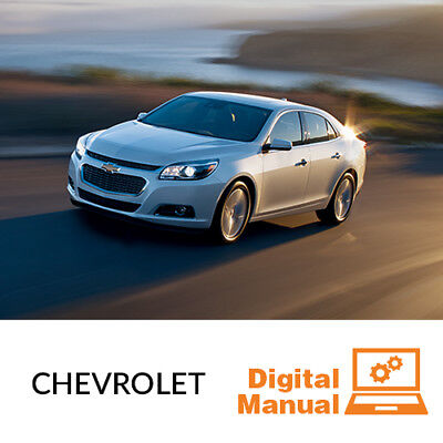Chevrolet Car   Service And Repair Manual 30 Day Online Access