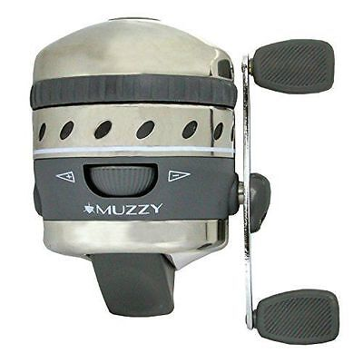 1097af31c4 NEW Muzzy XD Spin-Style Bowfishing Reel 1077 PRE SPOOLED WITH LINE