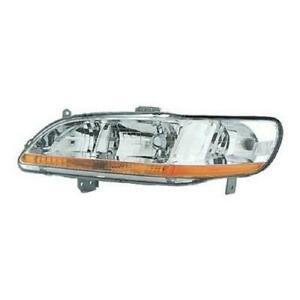 Headlight Driver Side Honda Accord 2001-2002