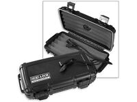discontinued Cigar Caddy by Otterbox Waterproof Travel Humidor up to 15 Stick