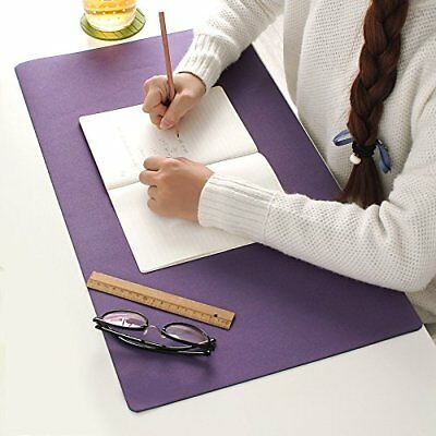 Desk Pad Protector Mouse Pad For Desktops And Laptops24x13 Dark Purple