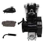 80cc Bicycle Motor Kit Black