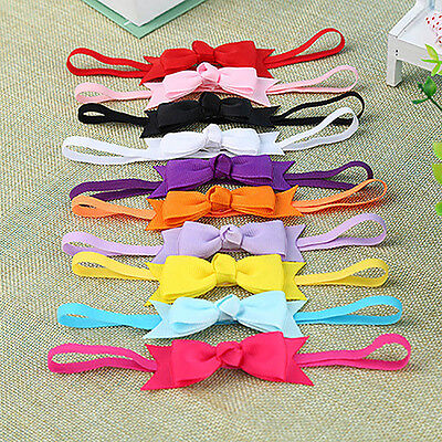 10Pcs Baby Girl Infant Toddler Headband Bow Hair Band Hair Accessory Bluelans