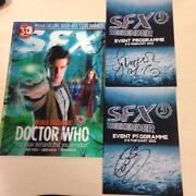 Doctor Who Signed Book
