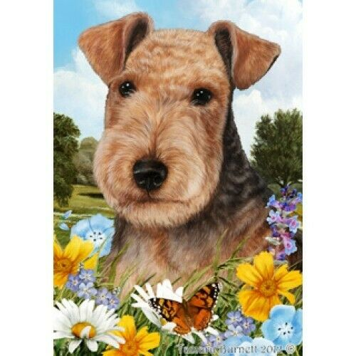 Summer House Flag - Lakeland Terrier 18234